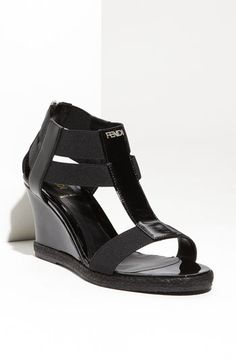 Fendi 'Carioca' Wedge Sandal available at Nordstrom