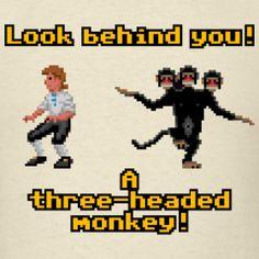 monkey island Happy Things, Nice Things, 90s Childhood, Childhood Memories, Day Of The Tentacle, Eddie The Head, Lucas Arts, Monkey Island, Head Games