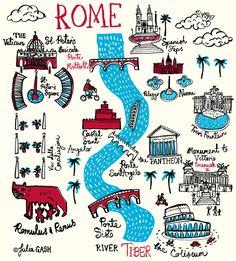 Rome Cityscape | Julia Gash