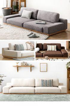 Dream Furniture, Sofa Furniture, Furniture Design, Living Room Seating, Living Room Decor, Japanese Sofa, Bedroom Couch, Home Goods Decor, Home Decor