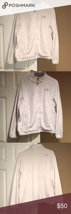 Lot of 2 North Face Fleece Jackets 2 north face fleece jackets size XL women's! Both in used condition! See pictures for details!! Price is firm!! North Face Jackets & Coats