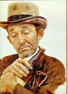 Norman Rockwell. Bing Crosby, Stagecoach