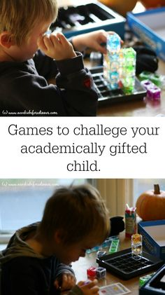 Keeping an academically gifted child engaged and challenged can be really hard. I've got two kid tested games to challenge your academically gifted child!