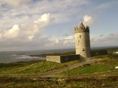 Doonagore Castle in the Burren Ireland is at the tip of a pentagram in a significant leyline pattern we talk about, featured in my book Cliffs Of Moher, Monument Valley, Paths, Ireland, Coastal, Meditation, Places To Visit, Spirituality, Tours