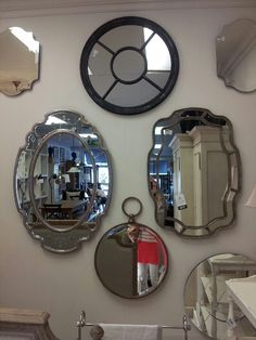 Block and chisel mirrors