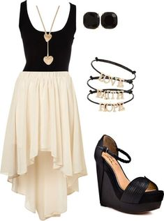 Love the dress, actually just love the whole outfit Mode Outfits, Fashion Outfits, Womens Fashion, Ladies Outfits, The Dress, Dress Skirt, Flowy Skirt, Mode Swag, Summer Outfits