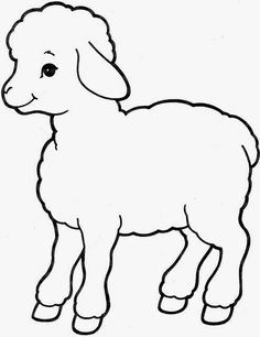 This video is a suggestion to teach about the sanctuary in a practical way . - This video is a suggestion to teach about the sanctuary in a practical and very efficient way. Easter Drawings, Art Drawings For Kids, Drawing For Kids, Animal Drawings, Farm Animal Coloring Pages, Colouring Pages, Coloring Books, Applique Patterns, Quilt Patterns
