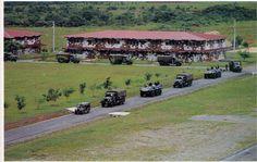 """Sede del Batallón 2000, ubicado en """"La Joya"""", corregimiento de Pacora, Provincia de Panamá."""