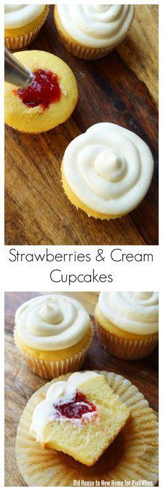 Filled Cupcakes Recipe