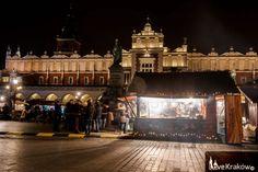 Rynek - Święta. Love Kraków