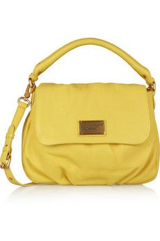 Marc by Marc Jacobs Classic Q Lil Ukita textured-leather shoulder bag   NET-A-PORTER