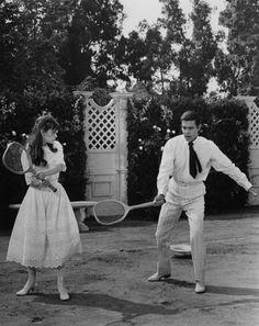 Gigi (1958) - Leslie Caron as Gigi & Louis Jourdan as Gaston Lachaille