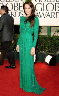 Angelina Jolie, Golden Globes, 2011