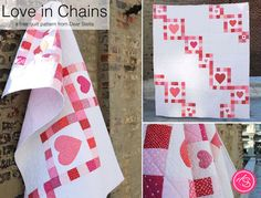 Free Pattern: Love in Chains Quilt | Dear Stella Design