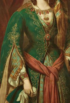 Odalisque, Detail. German School.  Early 19th Century