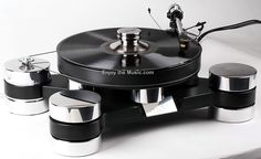 Transrotor Dark Star Silver Shadow Turntable High End Audio Audiophile Turntable (fb)