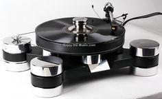Transrotor Dark Star Silver Shadow Turntable High End Audio Audiophile Turntable (fb)