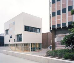 Conservatoire et pôle culturel nantais. © Photographe Audrey Cerdan. www.escaut.org #architecture #projet