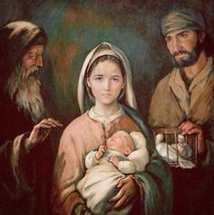 """""""Behold, this child is destined for the fall and rise of many in Israel, and to be a sign that will be contradicted (and you yourself a sword will pierce) so that the thoughts of many hearts may be revealed."""""""