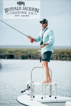 The Riverdale: Men's High Performance Technical Fishing Shirt: Trimmer Fit, All the Details. The shirt he wants to wear - and you want to see him in - on and off the water.