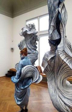 Papierobjects by Peter Gentenaar