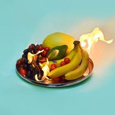 // Photography / colors #Burning #Banana #Fruits