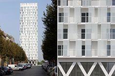 *벨기에 엔트워프 파크 타워 [ Studio Farris Architects ] The Park Tower, Antwerp, Belgium