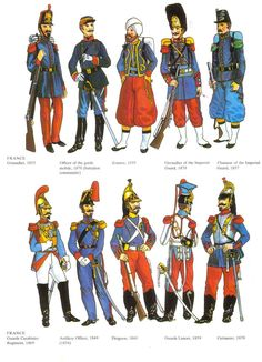 French uniforms from the Crimean War, and some info about the period.