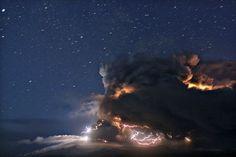 Magnificent Volcano - Iceland's Eyjafjallajökull volcano erupting