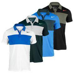 Nike men's Statement UV Tennis Polo. I like the pattern looks cool.