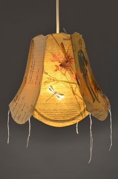 Andante lampshade by Jennifer Collier - Radiance