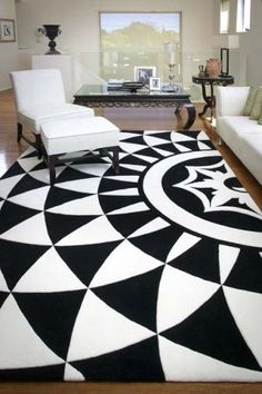 Alex Perry collection   Love this rug! Hey Emma look it's black and white ;) xxxxx
