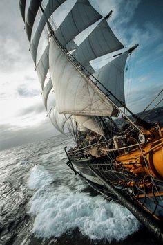 Sailing at sea [ HDR ]