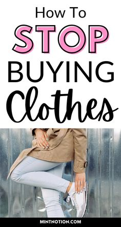 How I went a full year without buying new clothes. You can save so much money by doing the no new clothing challenge. Use these helpful tips to get out of debt, save money, and declutter your wardrobe. No new clothes for a year. Stop buying clothes for a year. Shopping hiatus. Shopping ban.