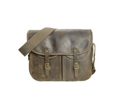 Laird Leather Tarras-Bags And Luggage-Olive-Front-UBA0336OL73.jpg