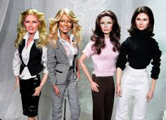 Charlie's Four Angels dolls