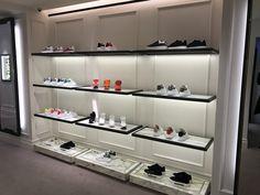 Alexander McQueen Store, London London City Guide, Alexander Mcqueen, Shoe Rack, Lighthouse, Luxury, Home, Fashion Styles, Bell Rock Lighthouse, Light House