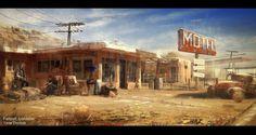 Fallout Lonestar: White Rose by Straidy.deviantart.com on @deviantART