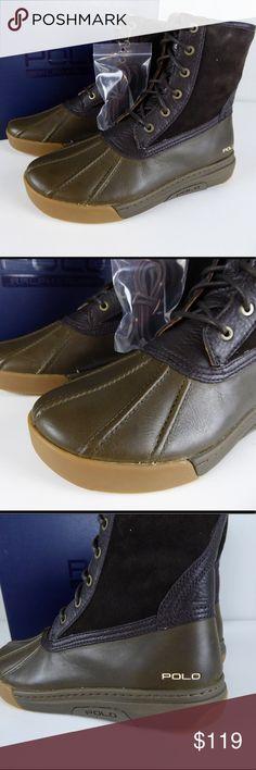 Polo Ralph Lauren Itford Cotton Canvas Sneaker Slip On Shoes NIB Rubber Trim NWT