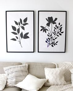 Free Botanical Prints Wall Art Available to Botanical Wall Art, Floral Wall Art, Botanical Prints, Free Art Prints, Wall Art Prints, Wall Paintings, Black And White Wall Art, Art Mural, Wooden Wall Art