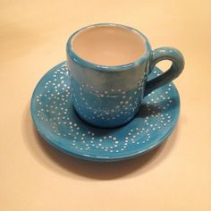 Blue Coffee Cups, Ceramic Coffee Cups, Tea Cups, Hot Toddy Recipe For Colds, Decoration Piece, Hand Painted Ceramics, Dishes, Tableware, Products