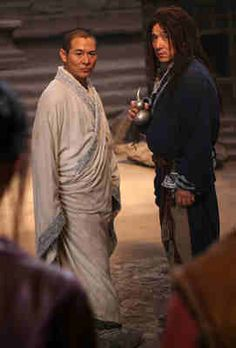 "Jackie chan & Jet Li in ""Forbidden Kingdom"""