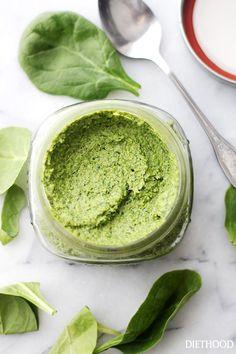 """緑の食材なら何でもおいしい♪バジルじゃない""""ジェノベーゼ""""レシピ"""