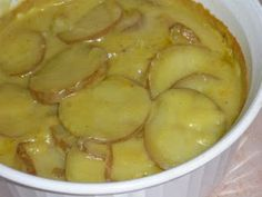 Scalloped Potatoes- GF/DF (will use veg broth)