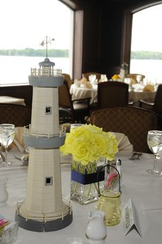 Centerpieces (w.Grandmau0027s Lighthouses)