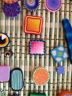 Wonderful polymer clay ideas - Flip Flops & Pop Tarts: TAG ART CAMP Weekend The TideWater Artist Group