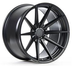 20x9/11 Rohana Wheels RF1 Black Rims for MBZ 5.112 (ET20/28) Reg $2260