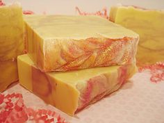 Strawberry Wine Soap - made with Moscato Wine