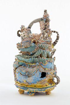 "Francesca DiMattio ""ceramics #porcelain #stoneware [""confection"", 2015]"