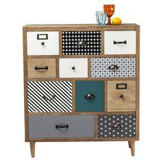 ACHICA | Capri 11 Drawer Cabinet